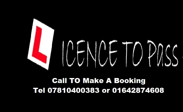Licence To Pass Driving Lessons
