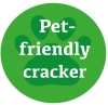 Pet-friendly cracker logo
