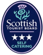 Visit Scotland 3 star self catering holiday accommodation East Challoch Farm Dunragit Stranraer Scotland